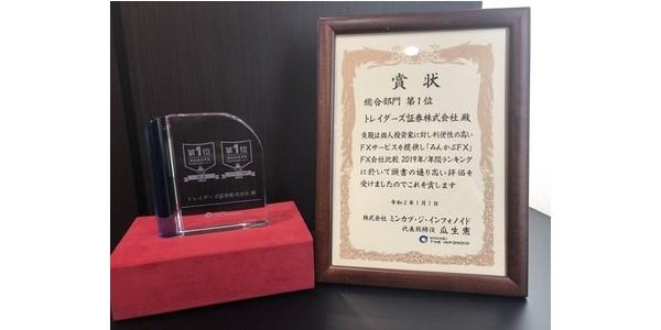 トレイダーズ証券株式会社のLIGHT FX、みんかぶFX年間ランキングスワップ部門第1位獲得キャンペーン延長