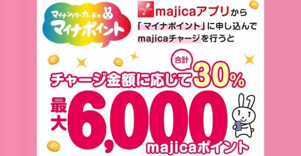 majica(マジカ) マイナポイントの申込み、予約、登録、特典、特設サイト、上乗せキャンペーンなど